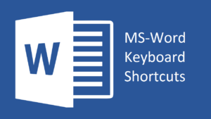 MS Word Keyboard Shortcuts