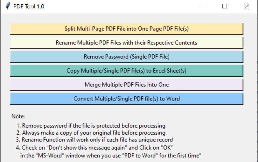 Free PDF Tool to Split Multi-Page PDF File into One