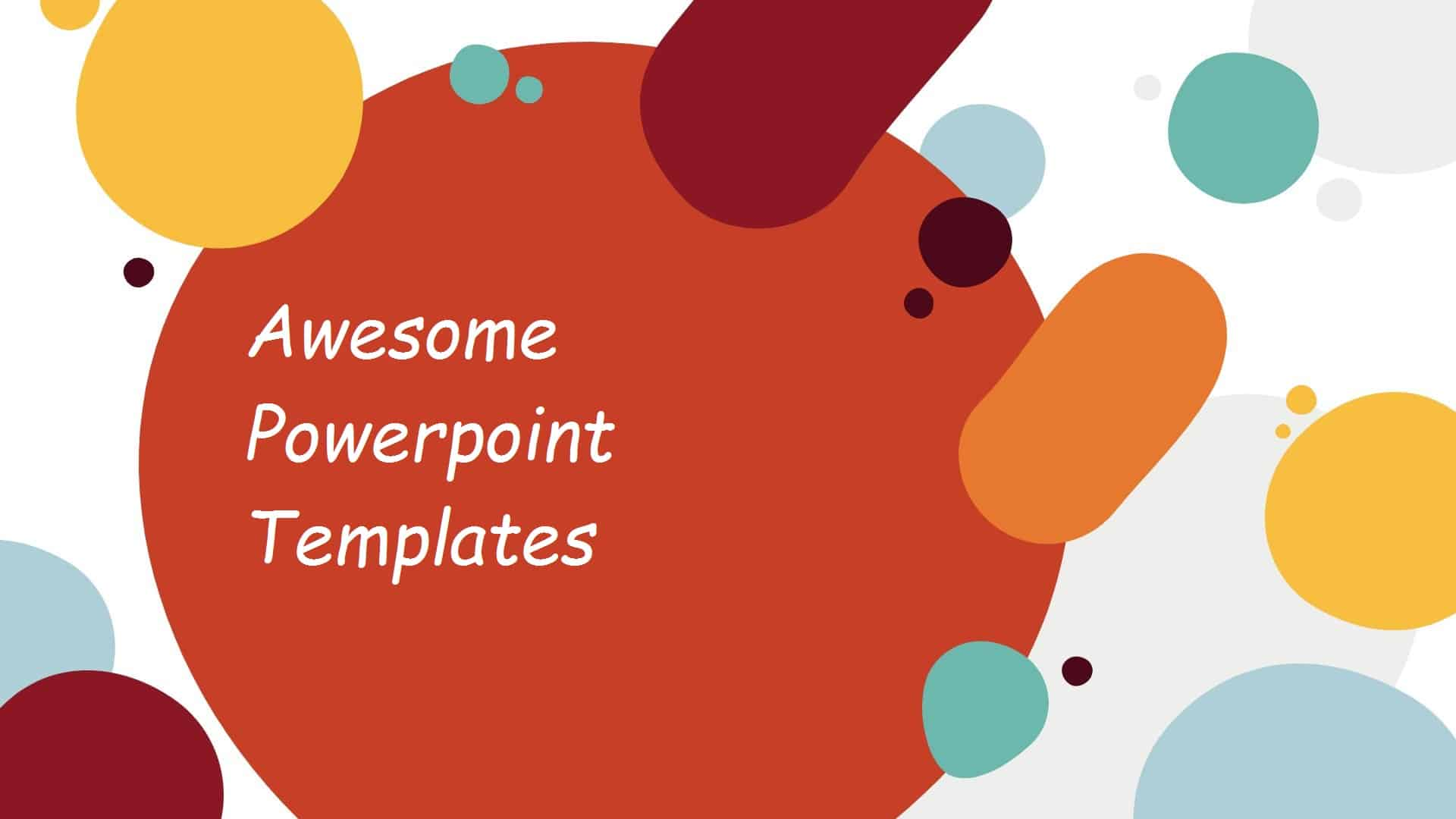 Free Powerpoint Templates 2021